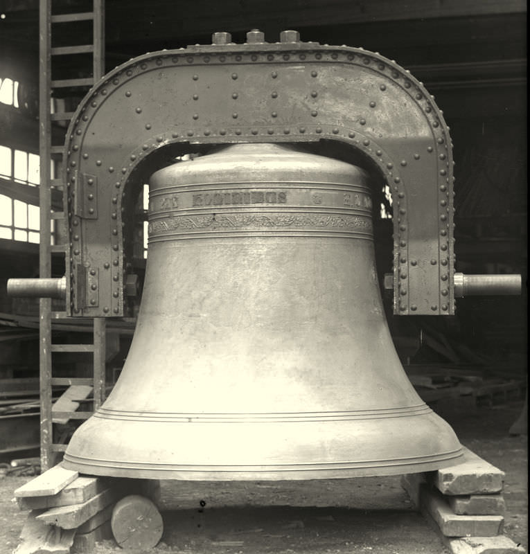 Downside Abbey's great bell was originally cast for Beverley Minster and spent one year there.