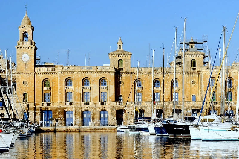 Malta's National Maritime Museum where the chime will hang.
