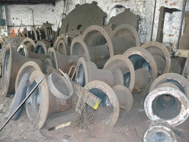 Bell cases and base plates for various sizes of bell - and we have much bigger ones than these for really large bells!