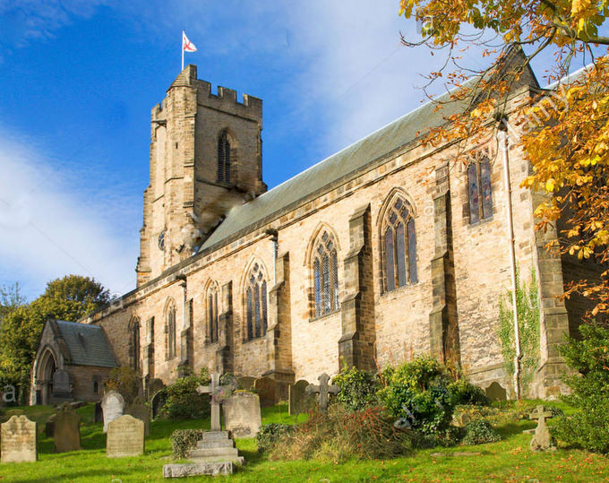 St Mary's, Richmond, North Yorkshire.