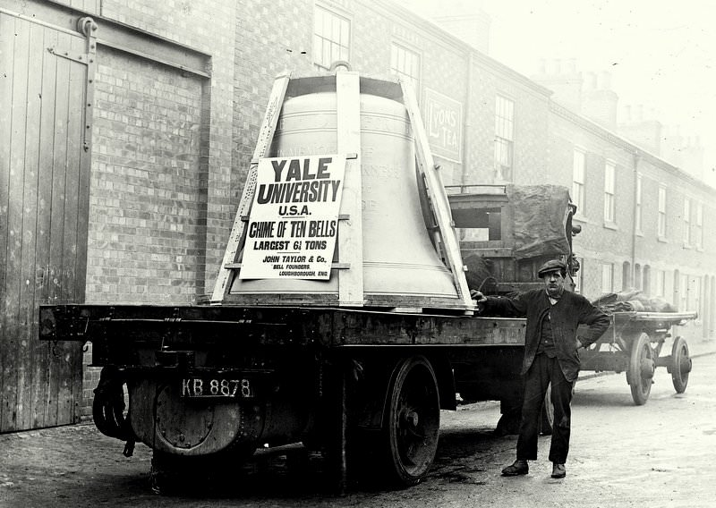 Yale's Bass Bell leaving Taylor's for export.