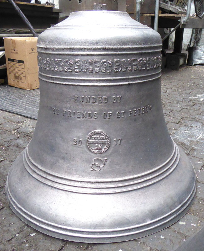 Crettingham's new treble bell.