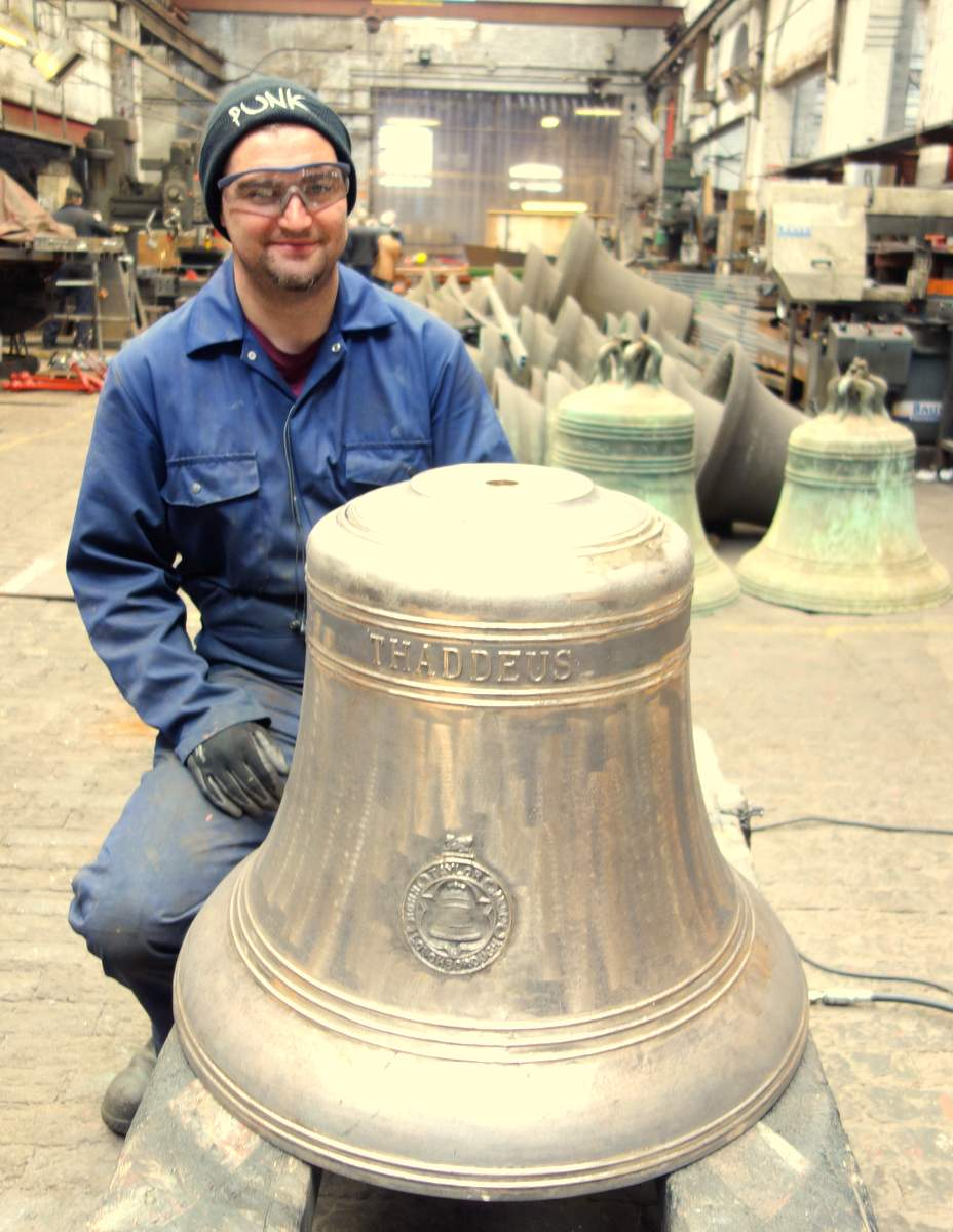 Will  fettles one of the bells