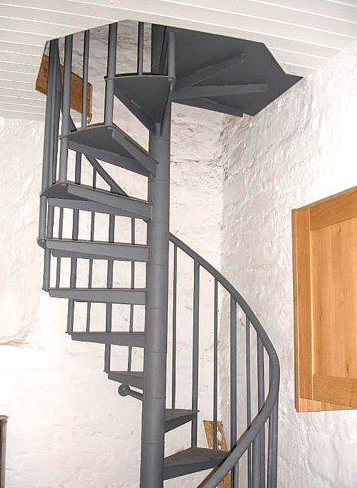 A new gallery access staircase manufactured in our works and fitted on site.